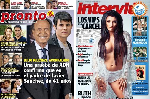 Crónica rosa. El hijo secreto de Julio Iglesias y la fantasía sexual de Escassi