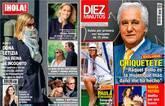 La Reina pasea por Madrid de incógnito y Jaime Cantizano será padre
