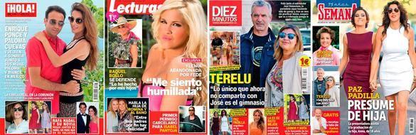 Revistas del corazón del 27 de mayo de 2015.