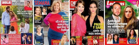 Borja Thyssen y Blanca Cuesta esperan por fin una niña