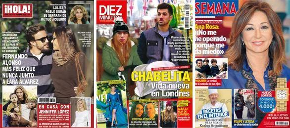 Crónica rosa   Las fotos del romance de Alonso y Lara Álvarez