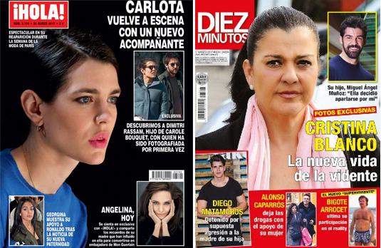 Crónica rosa. A la 'caza' de Cristina Blanco, la vidente más famosa de los 90