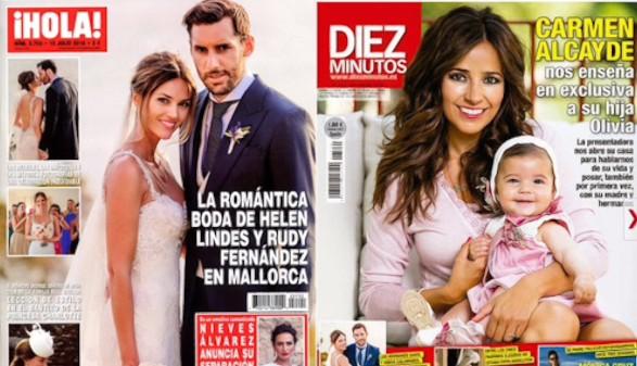 Mientras Rudy y Helen se casan, Nieves y Marco se separan