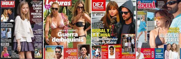 Portadas de las revistas del 8 de abril.