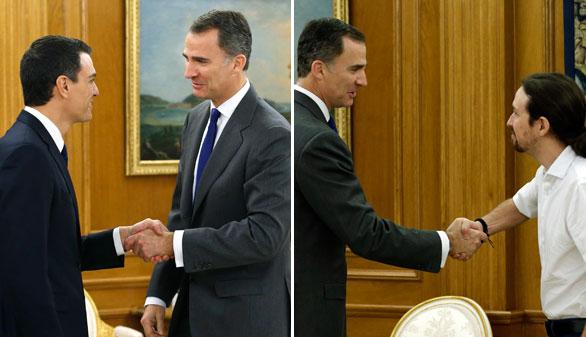 Iglesias se propone como vicepresidente en un Gobierno de Sánchez