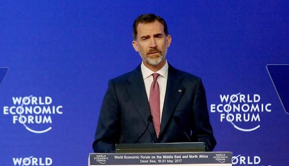 El Rey pide que la UE aúne fuerzas con Oriente Medio y África del Norte