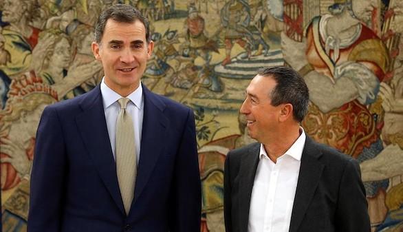Baldoví: el Rey maneja la posibilidad de que Rajoy renuncie