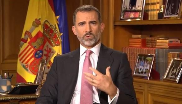El Rey denuncia el separatismo por