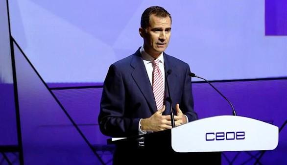 El Rey dice que España necesita un 'entorno favorable' para que las empresas generen empleo