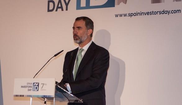 El Rey anima a inversores nacionales e internacionales a apostar por España