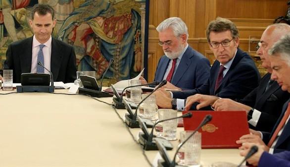 El Rey preside la reunión anual del patronato de la Fundación Pro Real Academia Española