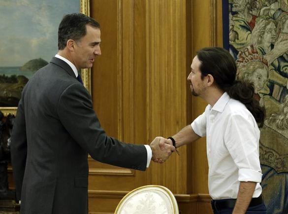 Numerito de Podemos: no saludará al Rey en la apertura de las Cortes