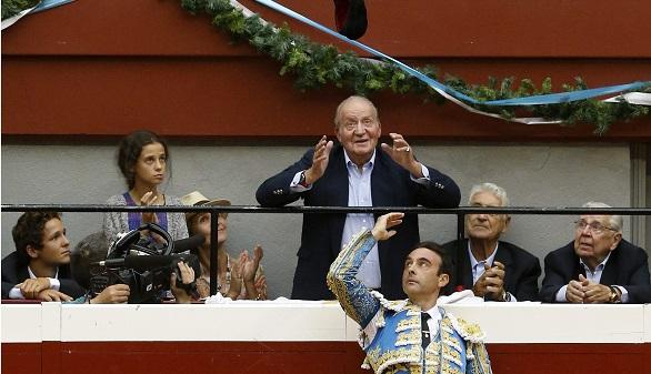 Don Juan Carlos preside el regreso de la Fiesta a San Sebastián