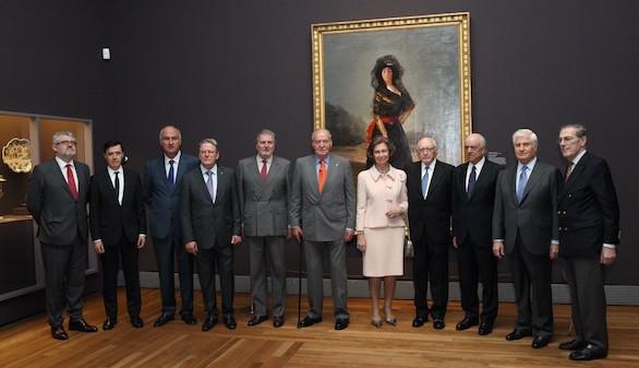 Don Juan Carlos y Doña Sofía inauguran los tesoros de la Hispanic Society