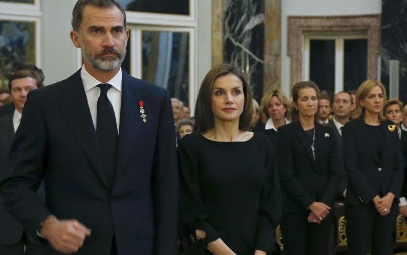 Primer encuentro en público de Doña Cristina con el Rey tras la sentencia de Nóos
