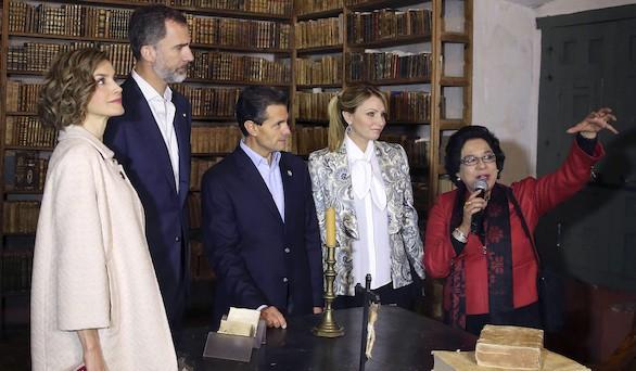 Reencuentro de los Reyes en México con la historia colonial