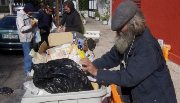 Uno de cada cinco españoles se encuentra en riesgo de pobreza