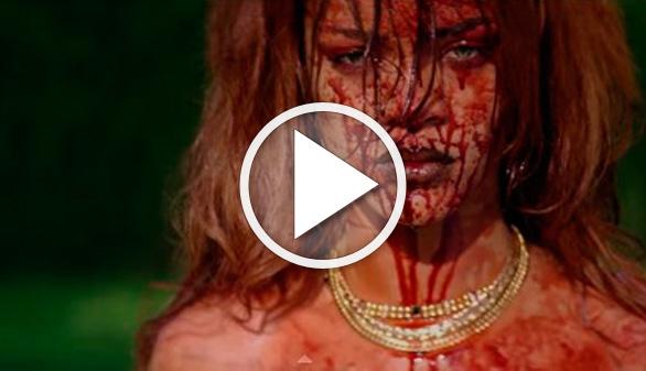 Rihanna, una asesina psicópata en su nuevo videoclip