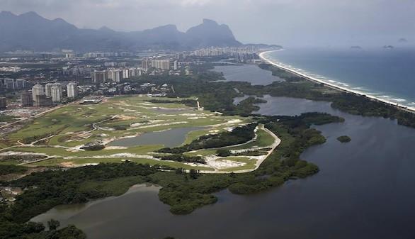 El polémico campo de golf de Río, listo para los Juegos Olímpicos