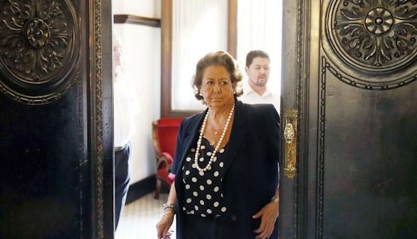 Rita Barberá no acude a la comparecencia por el 'caso Taula'
