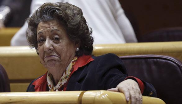El PP abre un expediente informativo a Rita Barberá