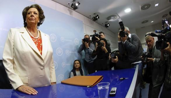 El juez interviene la cuenta bancaria del PP de Valencia