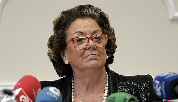 El PP blinda a Rita Barberá al mantenerla como aforada