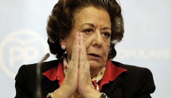 Rita Barbera recibe un sobre con una bala dentro