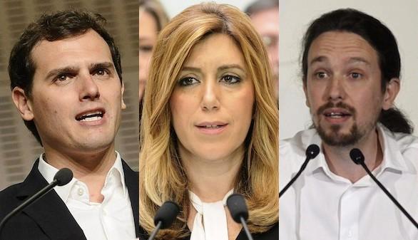 Podemos y ciudadanos se disputan el acuerdo de gobierno for Acuerdo de gobierno psoe ciudadanos