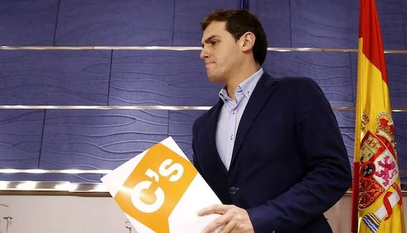Rivera pide el apoyo a Rajoy para aplicar todas las medidas legales contra el independentismo