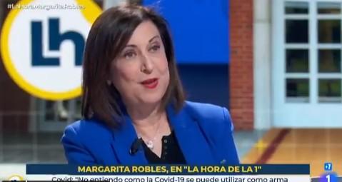 Robles, a Iglesias: