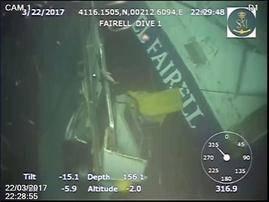 Prisión con fianza para el capitán del mercante ruso