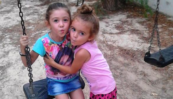 Rocío y María, dos niñas españolas víctimas de