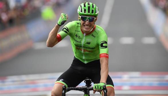 Giro de Italia. Rolland se impone a Costa en Canazei