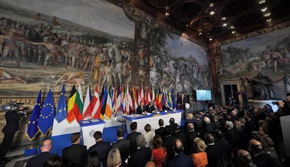Los líderes de la UE piden unidad y rechazan los nacionalismos