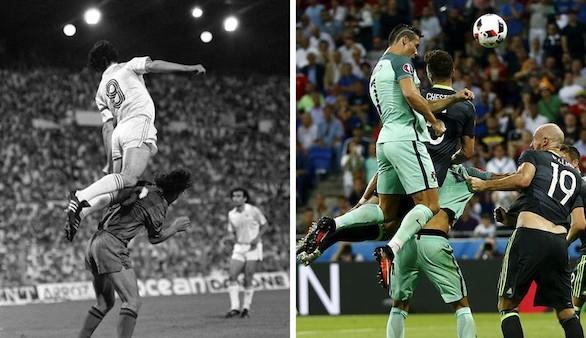 Santillana: 'El salto de Cristiano de parado es de un atleta prodigioso'