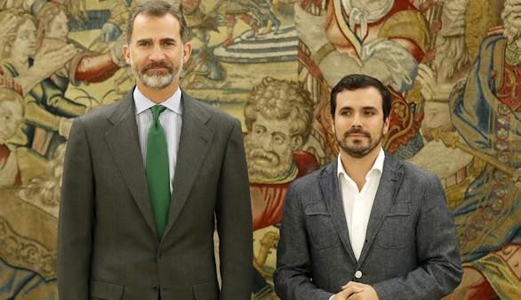 Garzón avisa al Rey: viene