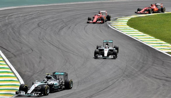 Rosberg se asegura el subcampeonato tras vencer en Brasil