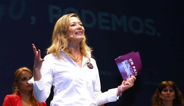 Victoria Rosell no irá de candidata con Podemos a las elecciones