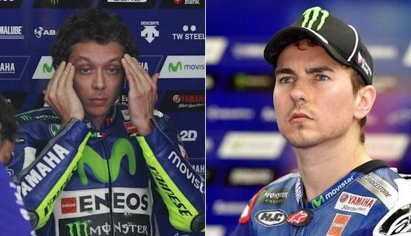 Alta tensión ante el duelo entre Lorenzo y Rossi