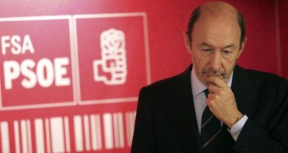 Rubalcaba rechaza ser candidato a la alcaldía de Madrid