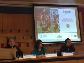 Down España y Fundación Sanitas presentan el rugby como exponente para la inclusión