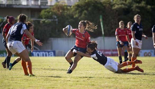 La selección femenina de rugby, campeona de Europa