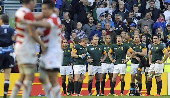 Mundial de rugby. Japón arrodilla a Sudáfrica y hace historia