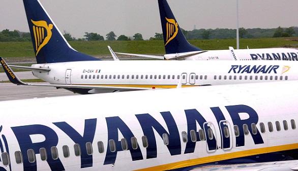 Ryanair publica un listado con la cancelación de vuelos hasta finales de octubre