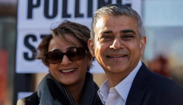 El laborista Sadiq Khan, primer alcalde musulmán de Londres