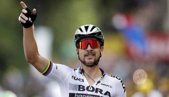 Tour de Francia. Sagan gana la tercera etapa y Thomas mantiene el maillot