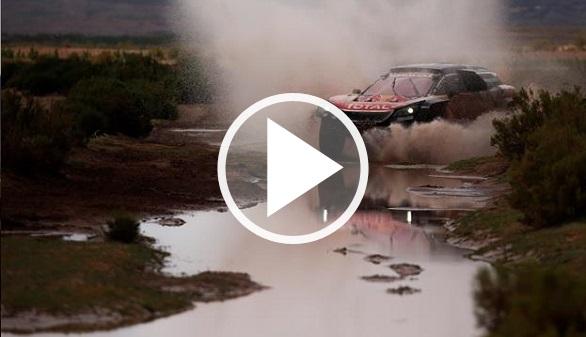 Dakar 2018. Barreda gana la etapa y Carlos Sainz se coloca líder en Bolivia