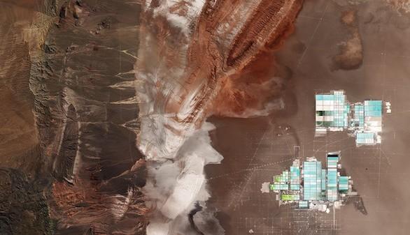 Sentinel-2 nos lleva a conocer una parte del desierto de Atacama