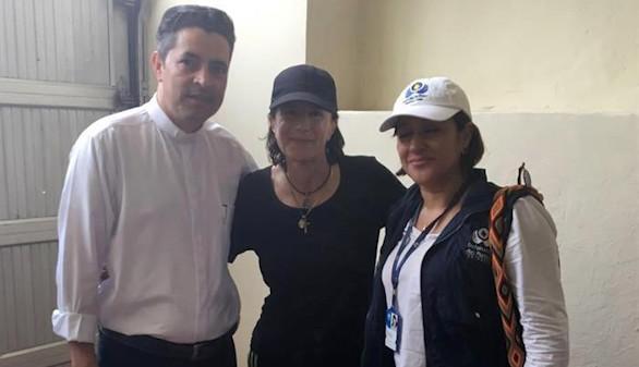 Liberada la periodista Salud Hernández-Mora: 'Estaba secuestrada'